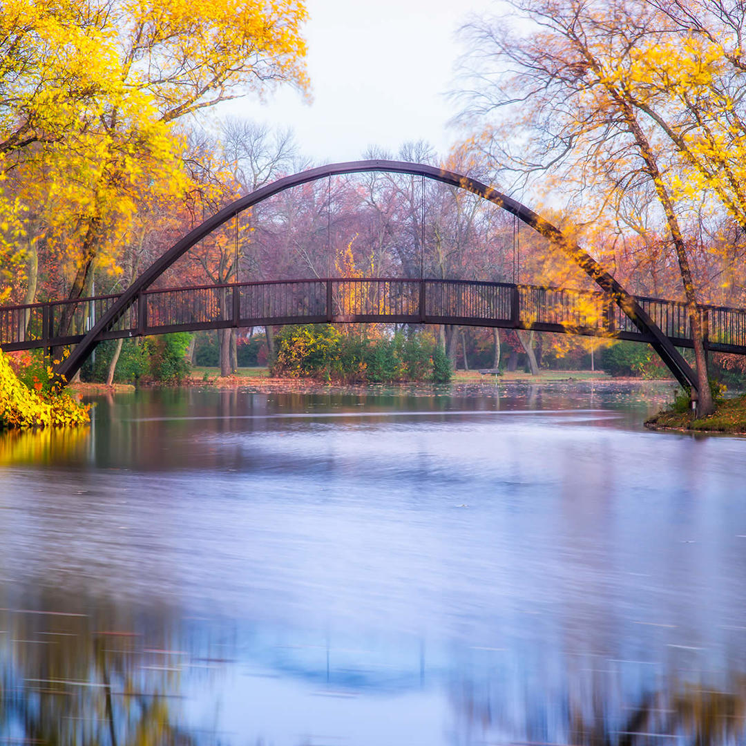 Tenney Park Bridge in Madison, WI