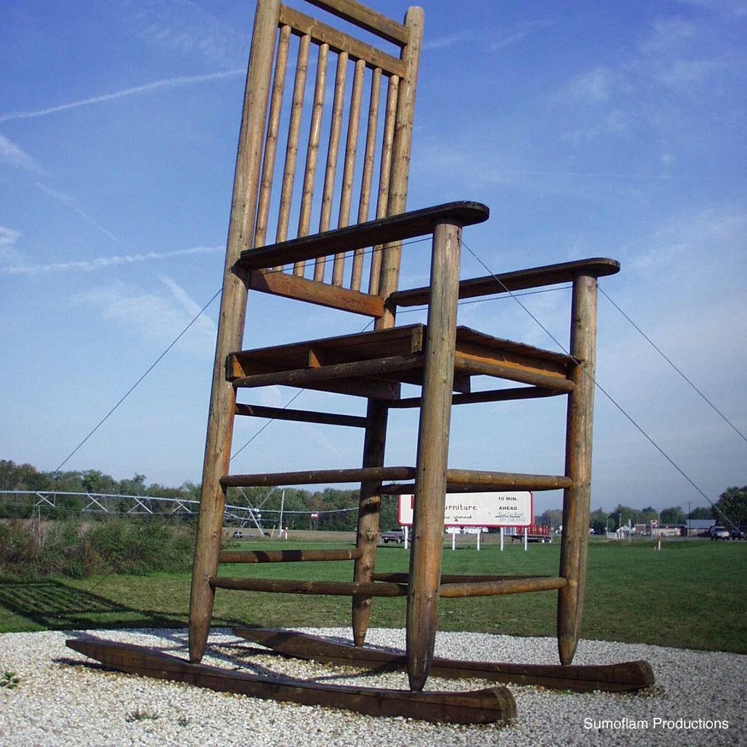 Fantastic Worlds Largest Rocking Chair In Franklin In Gmtry Best Dining Table And Chair Ideas Images Gmtryco